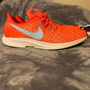 Men orange Nike Zoom